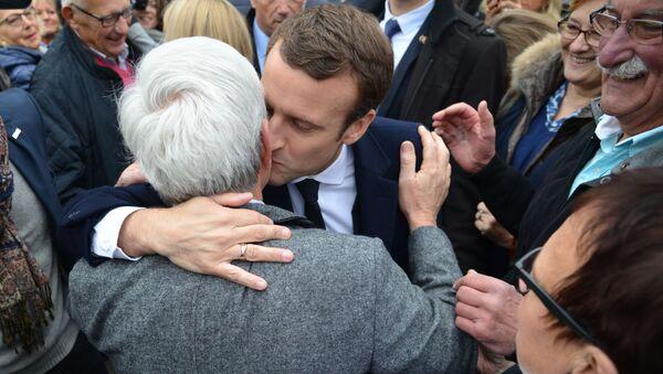 Kampania prezydencka we Francji, Emmanuel Macron - Sputnik Polska