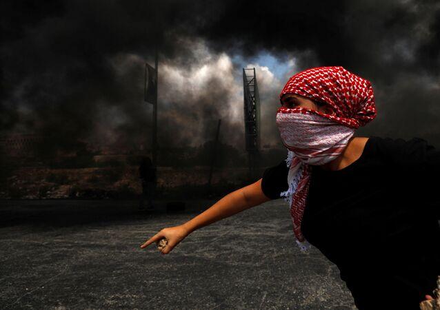 Protesty w Palestynie