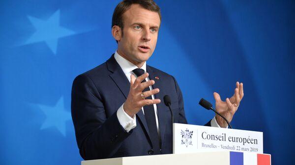 Emmanuel Macron z wizytą w Polsce - Sputnik Polska