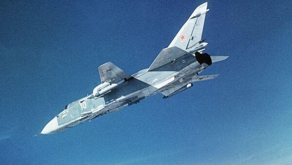 Bombowiec Su-24 - Sputnik Polska
