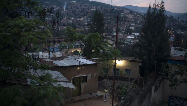Kigali, stolica Rwandy - Sputnik Polska