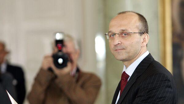 Były premier Kazimierz Marcinkiewicz. Zdjęcie archiwalne - Sputnik Polska