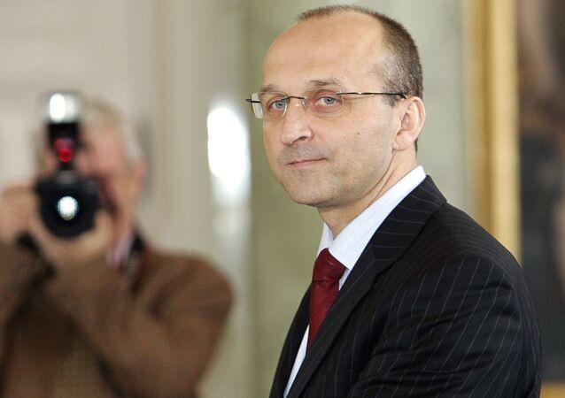 Były premier Kazimierz Marcinkiewicz. Zdjęcie archiwalne
