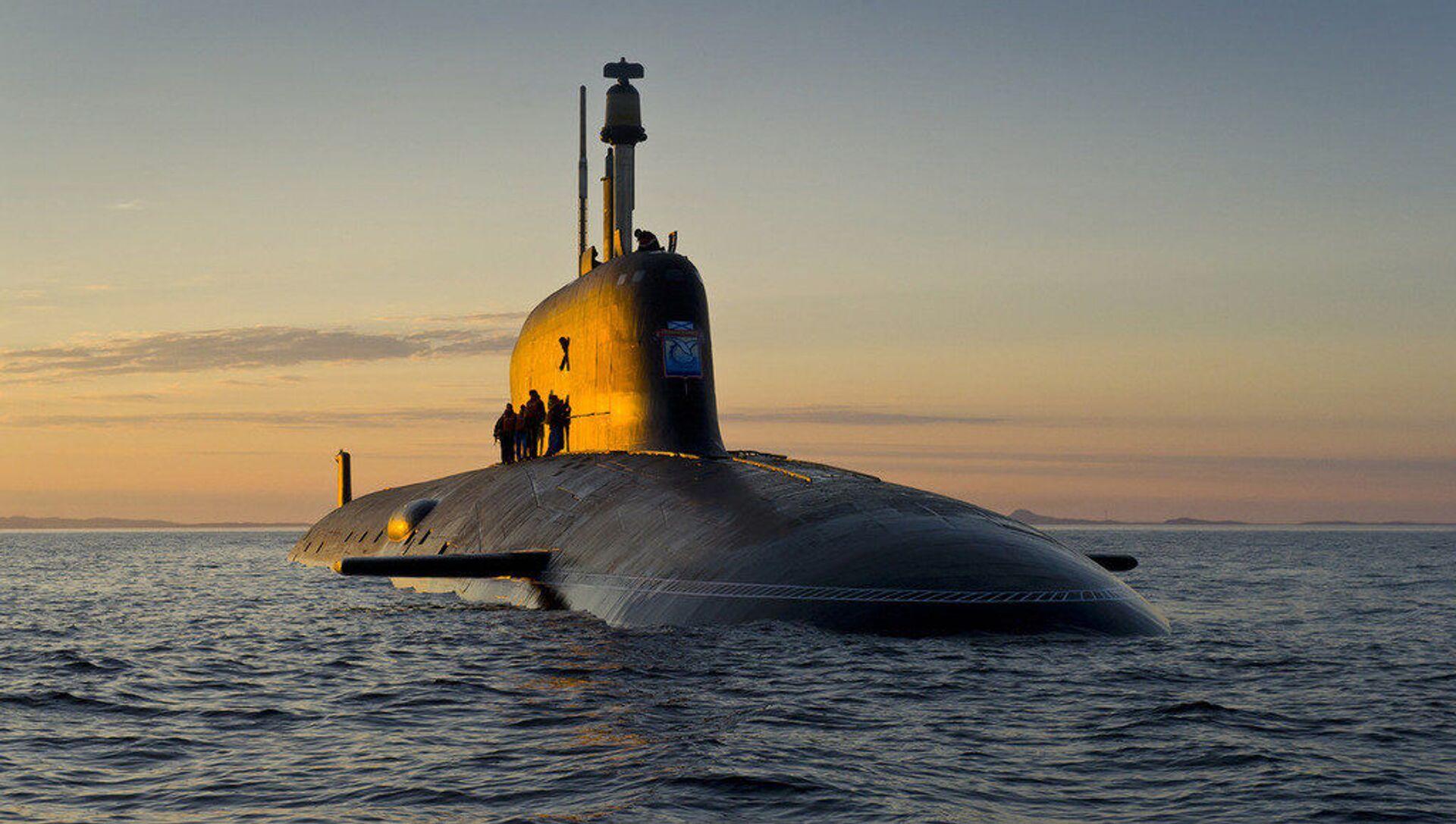 """Atomowy okręt podwodny projektu 885 """"Jasień - Sputnik Polska, 1920, 11.05.2021"""