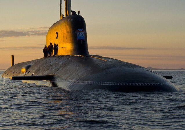 """Atomowy okręt podwodny projektu 885 """"Jasień"""
