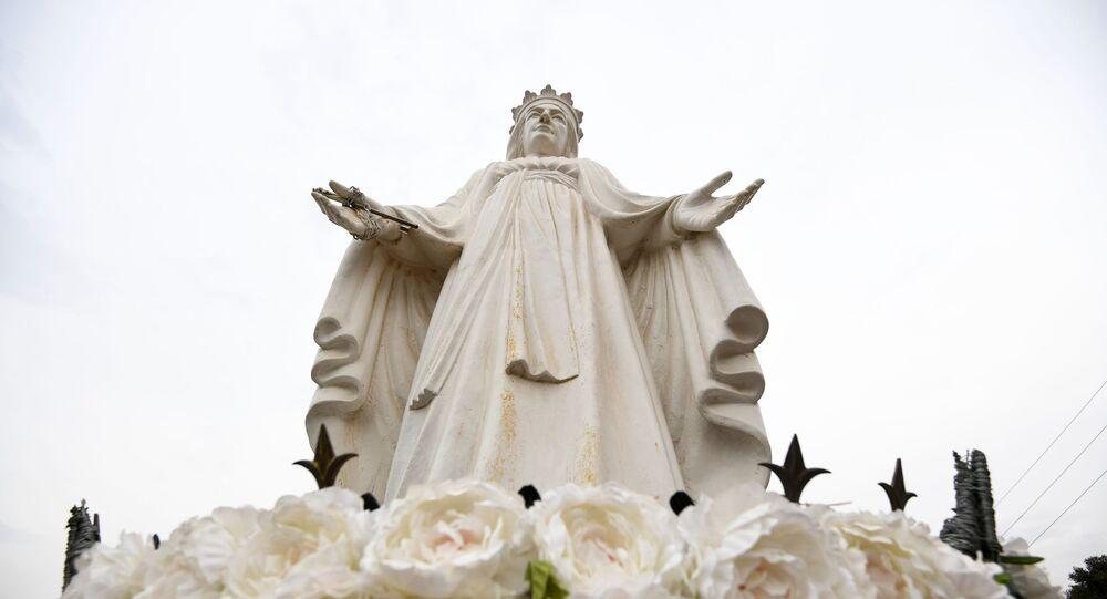 Figura Matki Bożej w Libanie