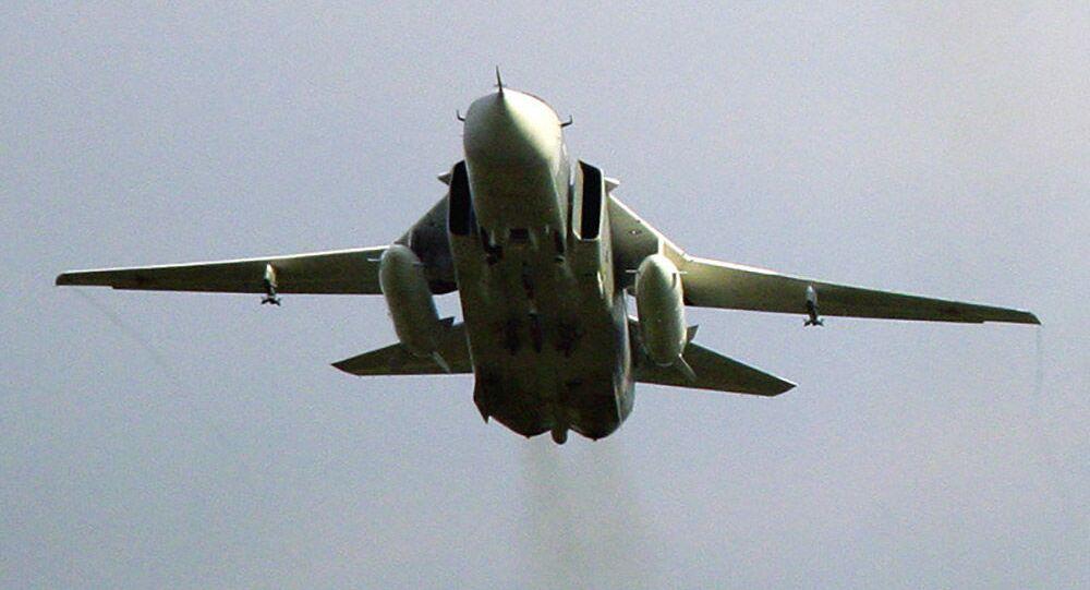 Bombowiec Su-24M