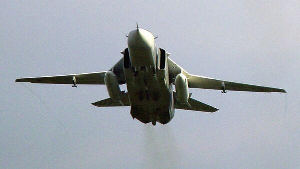 Bombowiec Su-24M  - Sputnik Polska