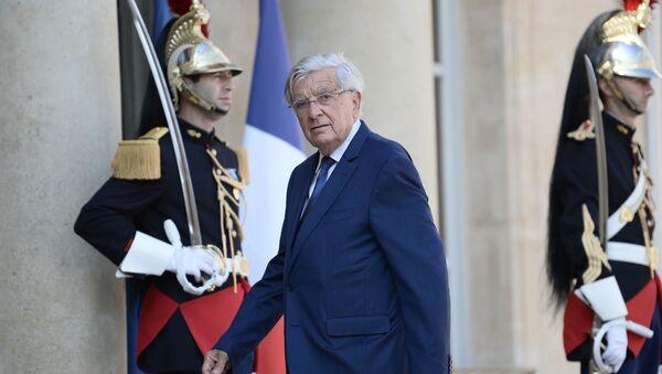 Specjalny przedstawiciel prezydenta Francji Jean-Pierre Chevenement - Sputnik Polska
