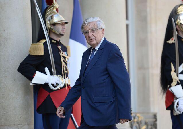 Specjalny przedstawiciel prezydenta Francji Jean-Pierre Chevenement