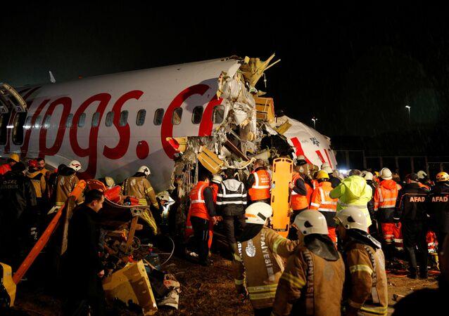 Katastrofa lotnicza w Stambule