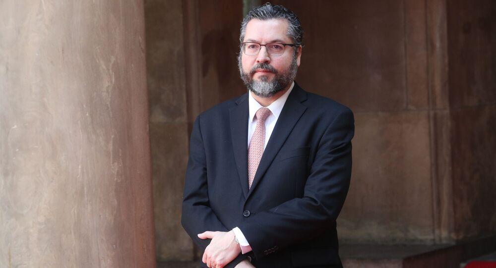 Minister spraw zagranicznych Brazylii Ernesto Araújo