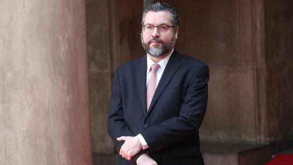Minister spraw zagranicznych Brazylii Ernesto Araújo - Sputnik Polska