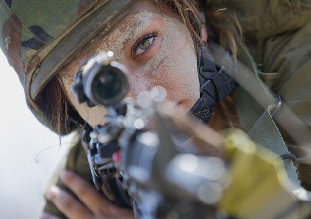 Izraelska żołnierka