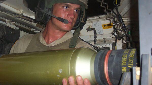 W środku czołgu M1 Abrams - Sputnik Polska