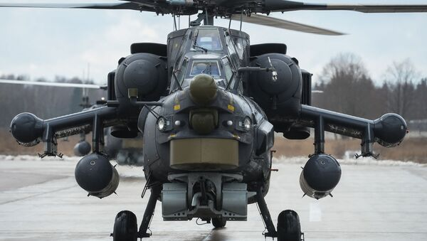 Nocny łowca Mi-28. - Sputnik Polska