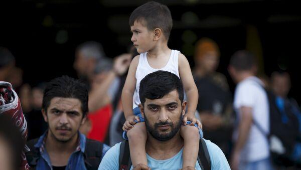 Syryjscy uchodźcy - Sputnik Polska