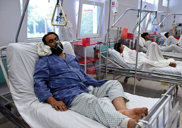 Ofiary nalotu na szpital w Kunduzie