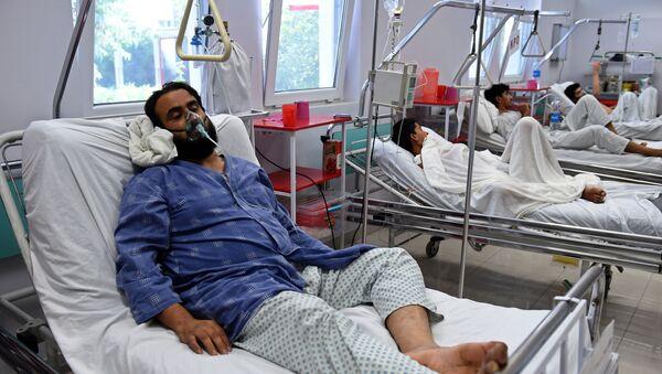 Ofiary nalotu na szpital w Kunduzie - Sputnik Polska