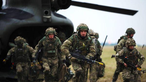 Żołnierze Wielkiej Brytanii - Sputnik Polska