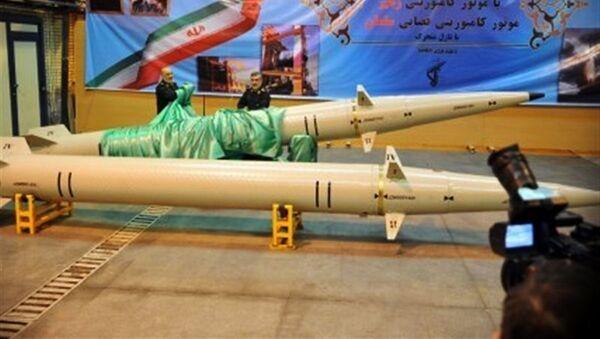 Irańska rakieta małego zasięgu Raad-500 - Sputnik Polska