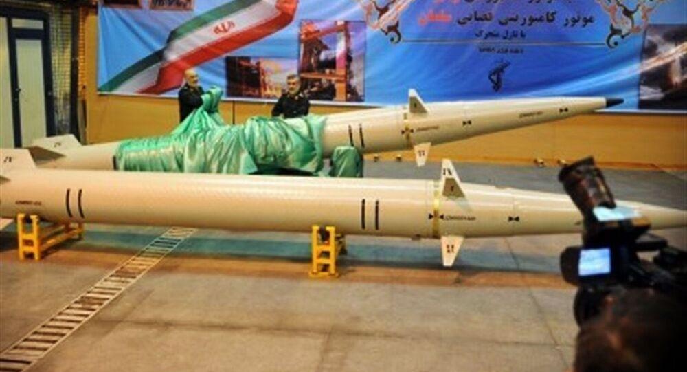 Irańska rakieta małego zasięgu Raad-500