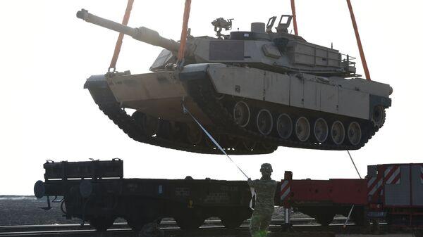 Amerykański czołg bojowy M1 Abrams - Sputnik Polska