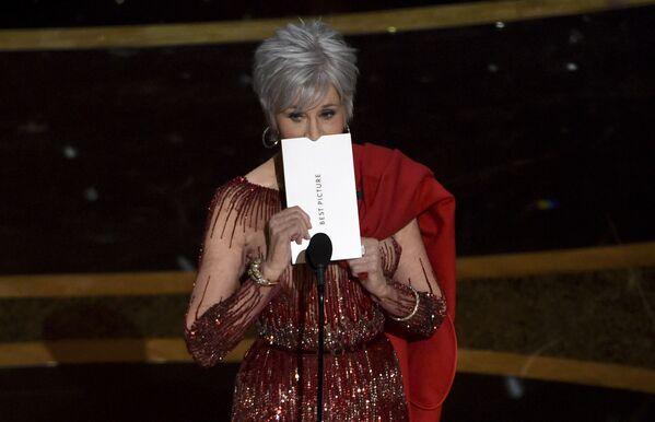 Aktorka Jane Fonda podczas 92. ceremonii wręczenia Oscarów  - Sputnik Polska