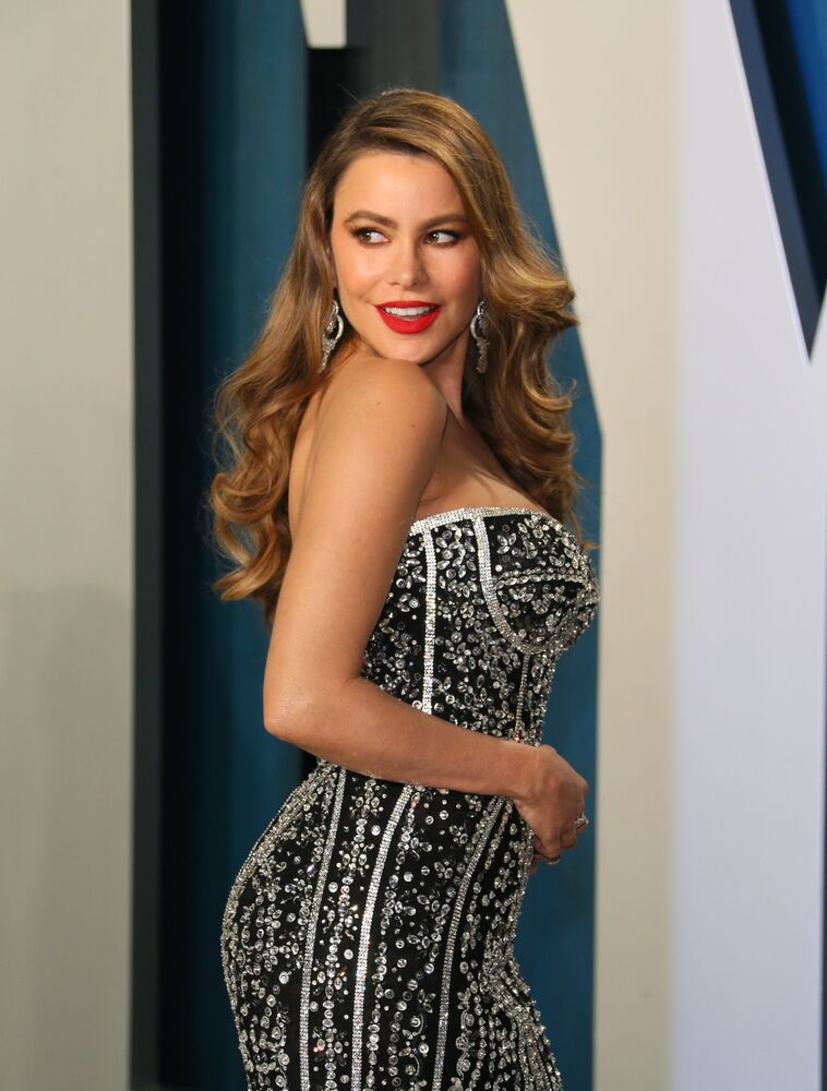Aktorka Sofia Vergara na Vanity Fair Oscar Party