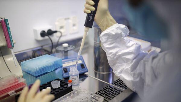 Laboratorium w Rosji, koronawirus - Sputnik Polska