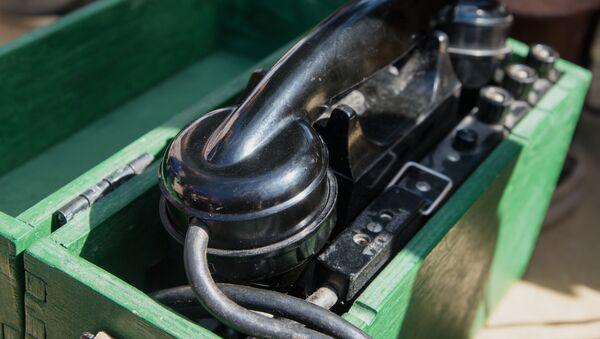 Stary aparat telefoniczny - Sputnik Polska