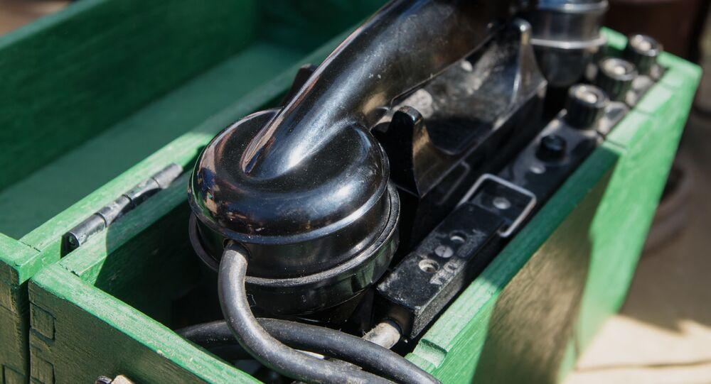 Stary aparat telefoniczny