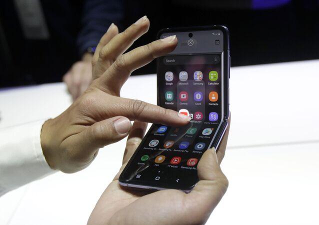 Smartfon z klapką Samsung Galaxy Z Flip