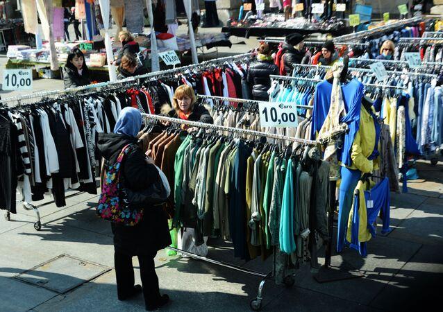 Bazar z ciuchami