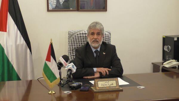 Ambasador Palestyny w Polsce Mahmoud Khalif - Sputnik Polska