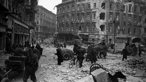 Wyzwolenie Budapesztu, 1945 rok - Sputnik Polska