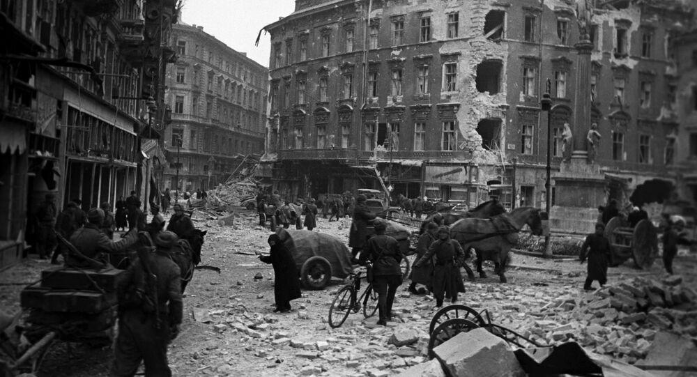 Wyzwolenie Budapesztu, 1945 rok