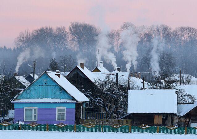Wieś na Białorusi