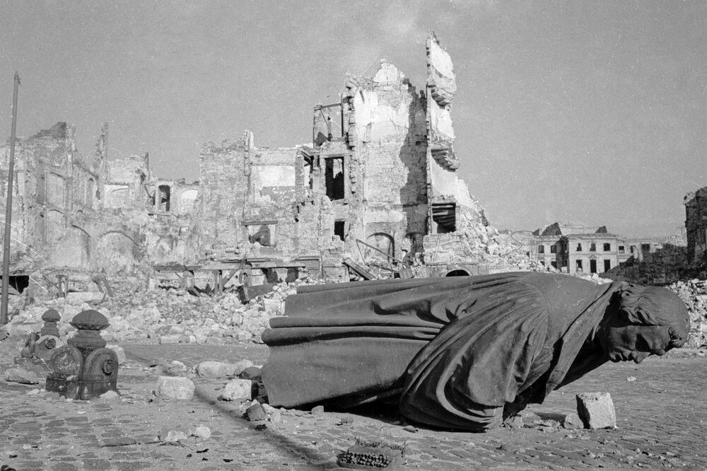 Drezno w lutym 1945 roku