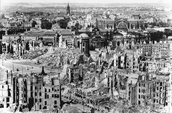 Bombardowanie Drezna, 1945 rok - Sputnik Polska