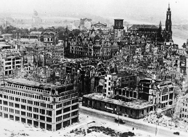 Drezno w 1951 roku - Sputnik Polska