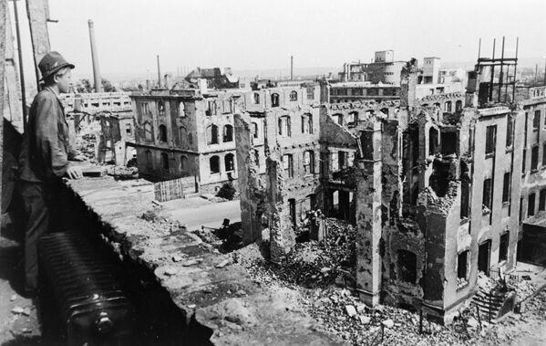 Drezno po wojnie - Sputnik Polska