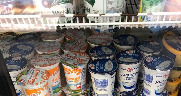 Sankcyjne produkty na rynku kaliningradzkim