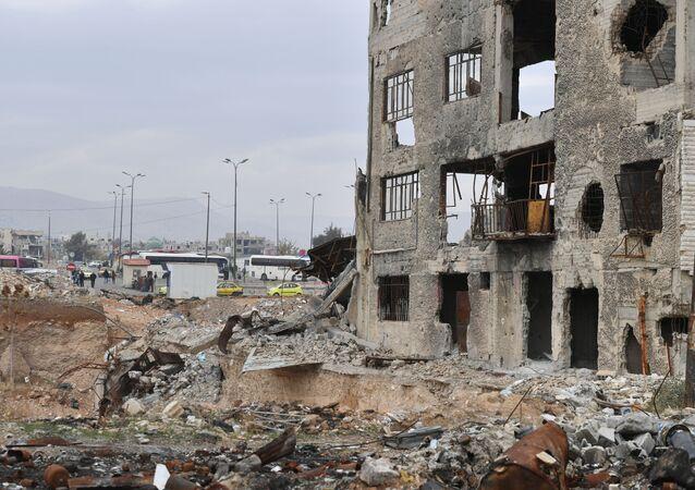 Syria. Nedaleko Damaszka