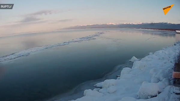 Lód na Bajkale - Sputnik Polska