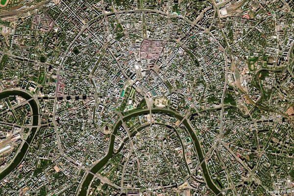 Zdjęcie z kosmosu miasta Moskwa, Rosja - Sputnik Polska