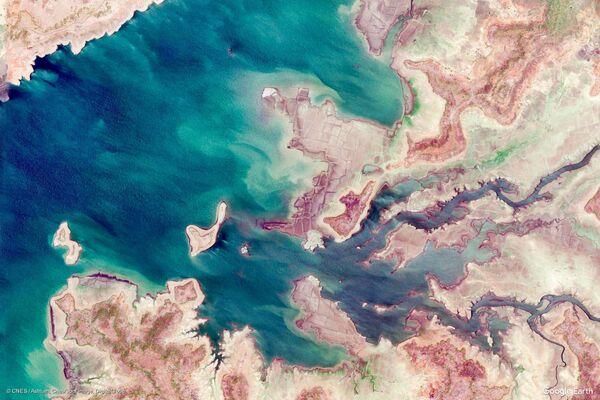 Zdjęcie z kosmosu miejscowości w rejonie Deori w stanie Madhya Pradesh, Indie - Sputnik Polska