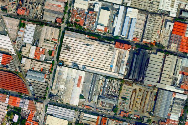 Zdjęcie z kosmosu miasta Meksyk, Meksyk - Sputnik Polska