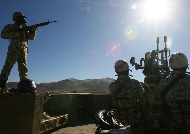 Ćwiczenia wojskowe w Iranie