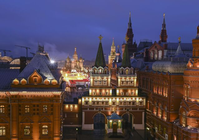 Moskwa, okolice Kremla